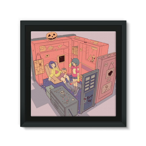 Box Halloween Canvas