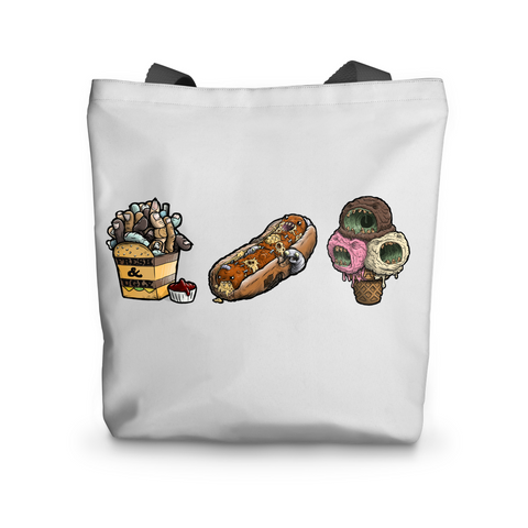 Freaky Food Tote Bag