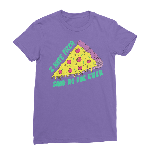 womens pizza t-shirt