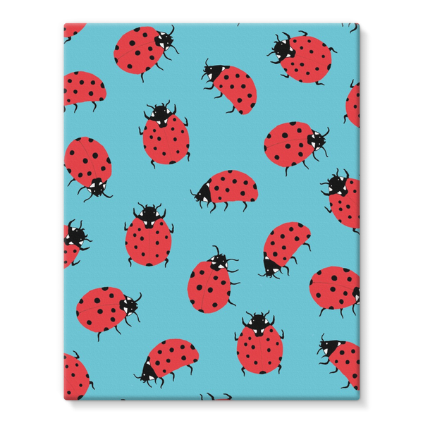 Ladybird canvas large