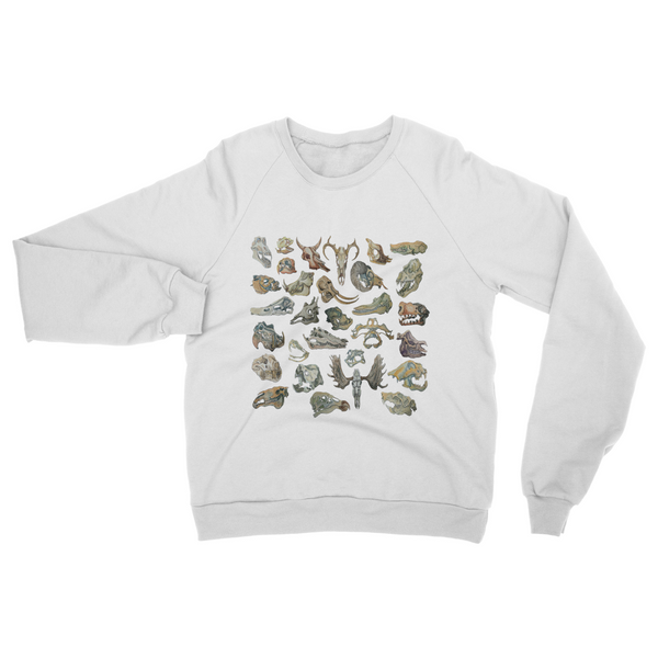 white skull sweatshirt