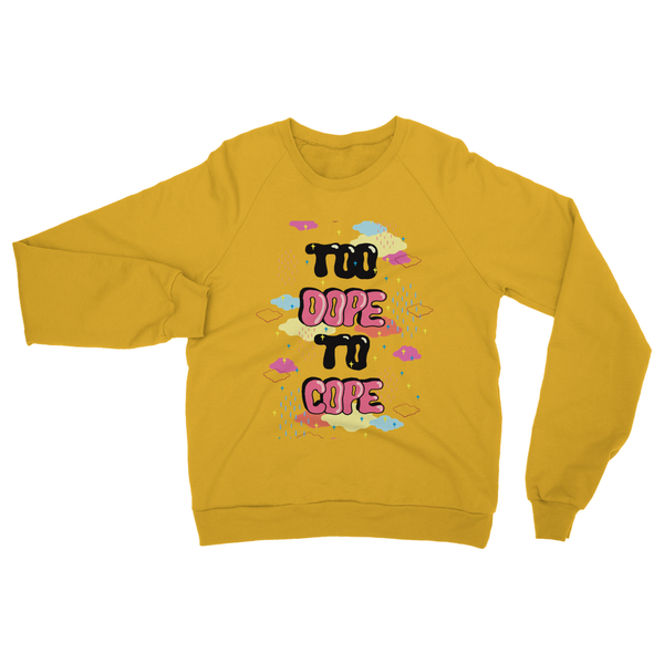 dope yellow jumper quirky