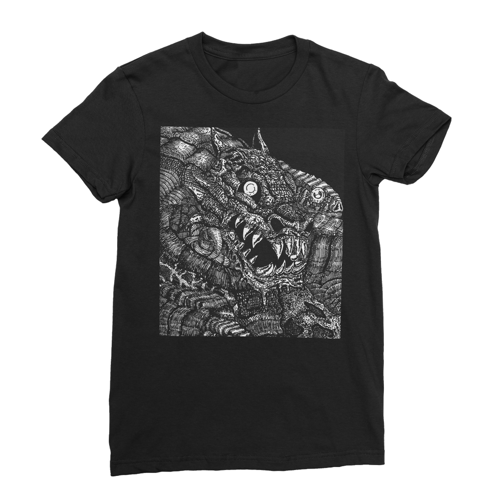 Dragon womens T-shirt