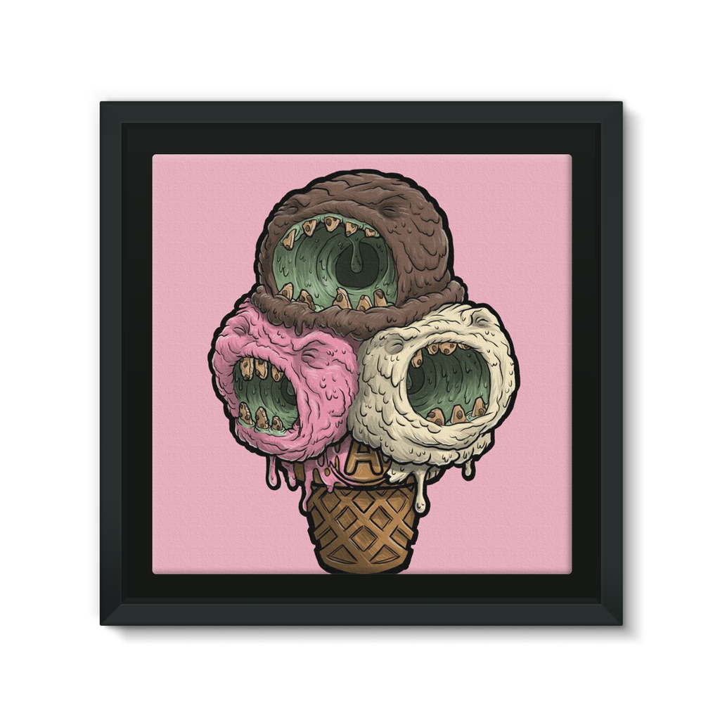 IceScream Canvas framed