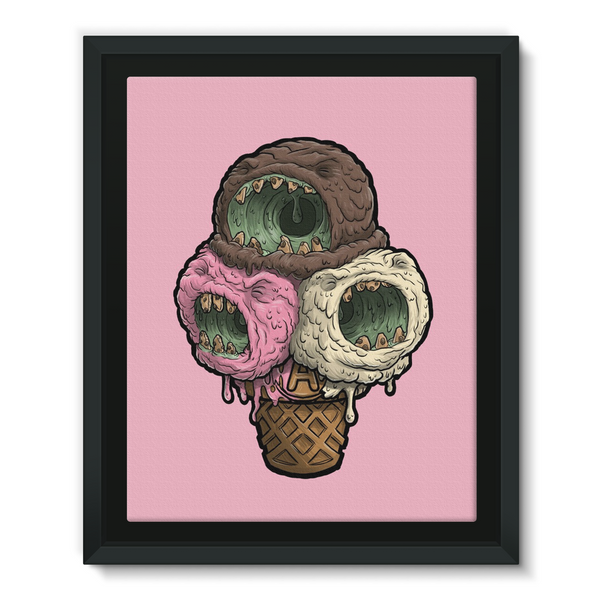 Pink Icecream canvas