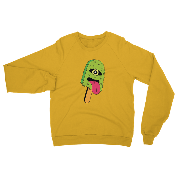 gold lollipop sweatshirt