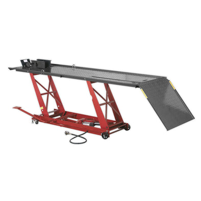Sealey Motorcycle Lift 454kg Capacity Air/Hydraulic