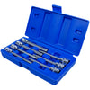 "BlueSpot 7 Piece 110mm 3/8"" Drive Extra Long Hex Socket Bit Set 3-10mm"