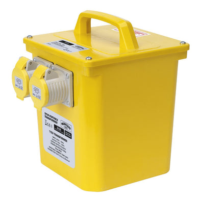 Worksafe by Sealey Portable Transformer 3000VA