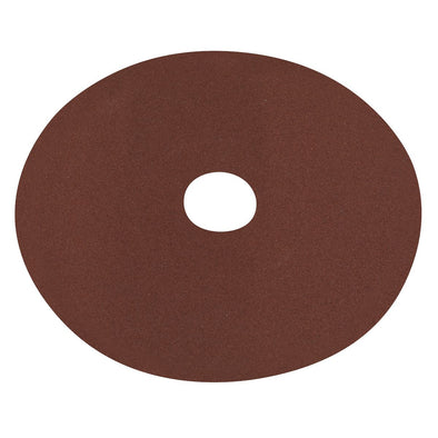 Worksafe by Sealey Fibre Backed Disc Ø125mm - 120Grit Pack of 25