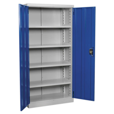 Sealey Premier Industrial Industrial Cabinet 4 Shelf 1800mm