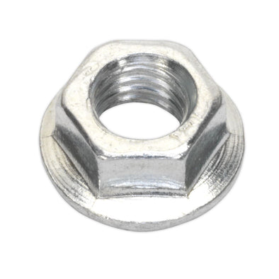 Sealey Flange Nut Serrated M5 Zinc Pack of 100