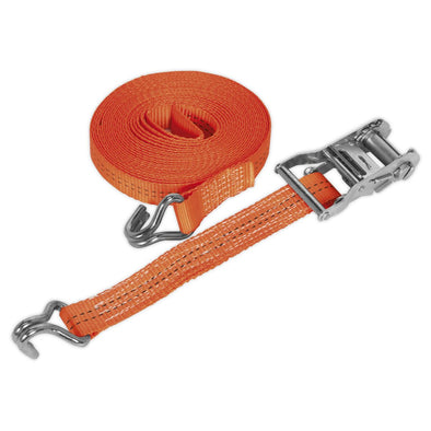 Sealey Ratchet Tie Down 35mm x 8m Polyester Webbing 2000kg Load Test