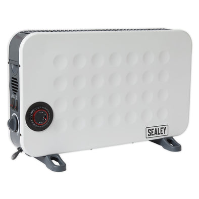 Sealey Convector Heater 2000W/230V with Turbo & Timer