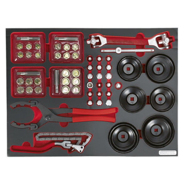 Sealey Premier Tool Tray with Oil Service Tools 41pc
