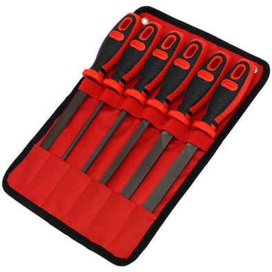 Sealey Premier 6 Piece 150mm Engineers File Set