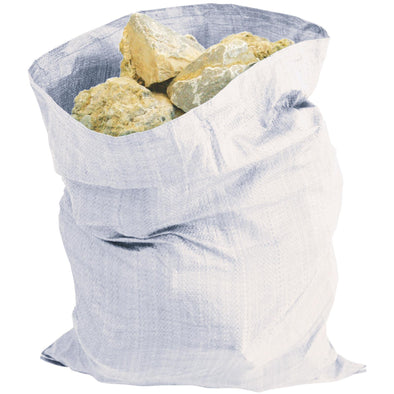 Silverline Pack Of 5 Heavy Duty Rubble Sacks 900 x 600mm Bag Brick Sand Gravel