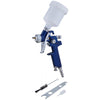 Bluespot 125ml Mini HVLP Gravity Feed Spray Gun 0.8mm Set Up