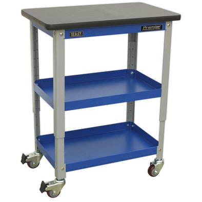 Sealey Premier Industrial Industrial 3-Level Workshop Trolley