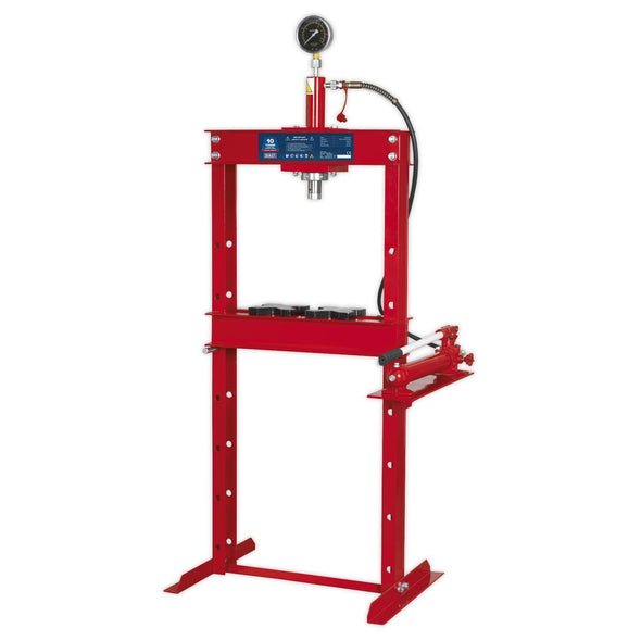 Sealey Hydraulic Press 10tonne Floor Type