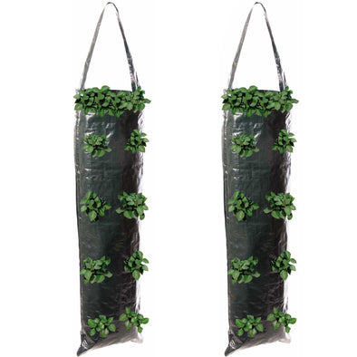 Silverline Hanging Grow Tube 700x220mm Plant Garden Tough Reusable