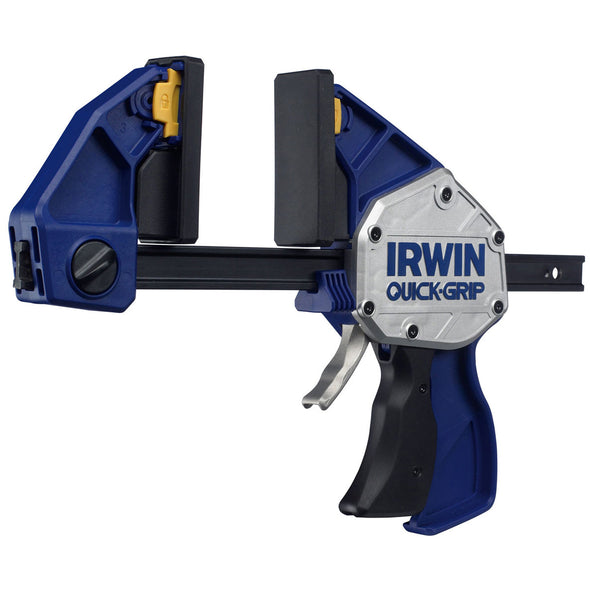 "Irwin 150mm 6"" Quick-Grip Xtreme Pressure One Handed Ratchet Clamp"