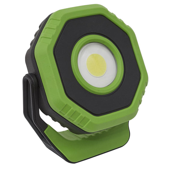 Sealey Rechargeable Pocket Floodlight with Magnet 360° 7W COB LED - Green