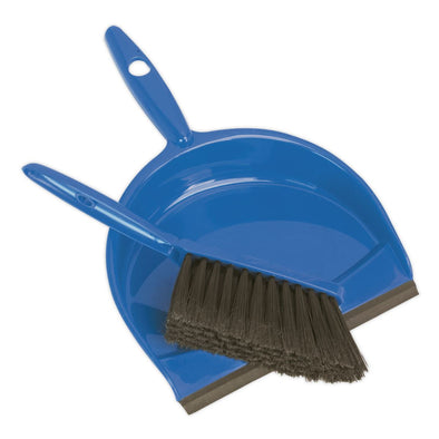 Sealey Dustpan & Brush Set Composite