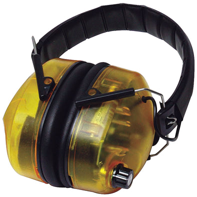 Silverline Electronic Ear Defenders SNR 30dB Ear Muffs Safety Workwear PPE