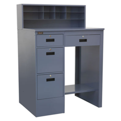 Sealey Industrial Workstation 4 Drawer - Grey