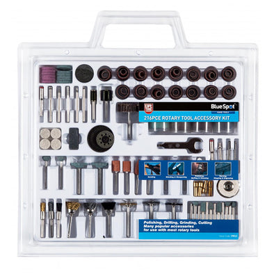 Silverline 105 Piece Rotary Hobby Tool Accessory Kit Cutting Grinding Polishing