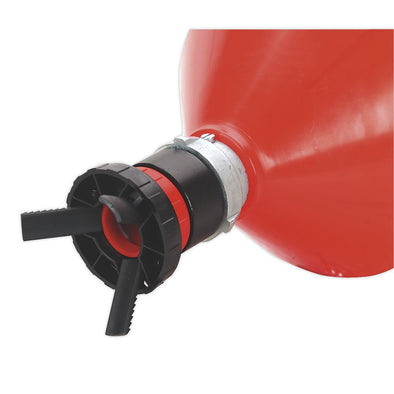 Sealey Solvent Safety Funnel with Universal Drum Adaptor