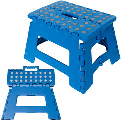 Silverline 150kg Folding Step/Stool Anti-Slip Home Garage Camping