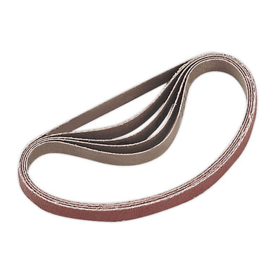 Sealey Sanding Belt 10 x 330mm 80Grit Pack of 5