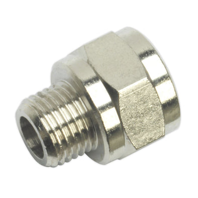 "Sealey Adaptor 1/4""BSP Male to 3/8""BSP Female"