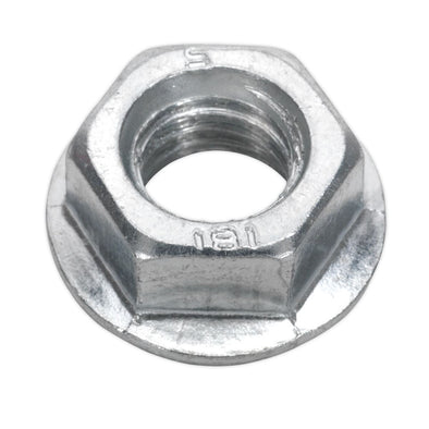 Sealey Flange Nut Serrated M12 Zinc Pack of 50