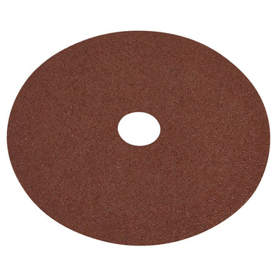 Worksafe by Sealey Fibre Backed Disc Ø115mm - 40Grit Pack of 25