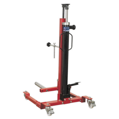Sealey Wheel Removal/Lifter Trolley 80kg Quick Lift