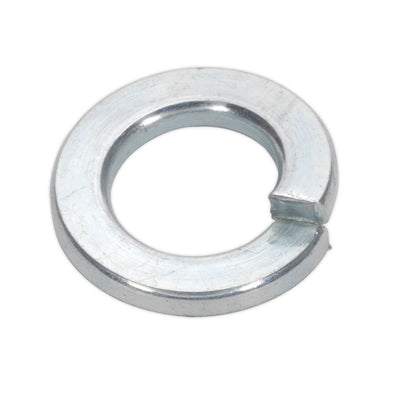 Sealey Spring Washer M8 Zinc Pack of 100