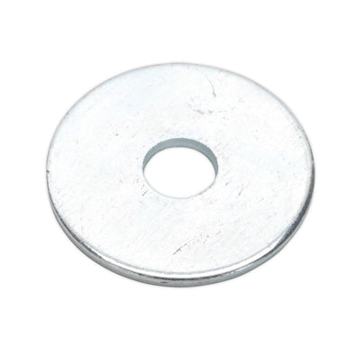 Sealey Repair Washer M6 x 25mm Zinc Plated Pack of 100