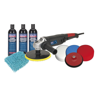 Sealey Ø180mm Pro Polishing & Compounding Kit 1100W/230V