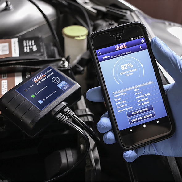 Sealey Bluetooth Battery Tester