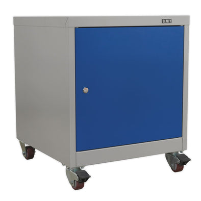 Sealey Premier Industrial Mobile Industrial Cabinet 1 Shelf Locker