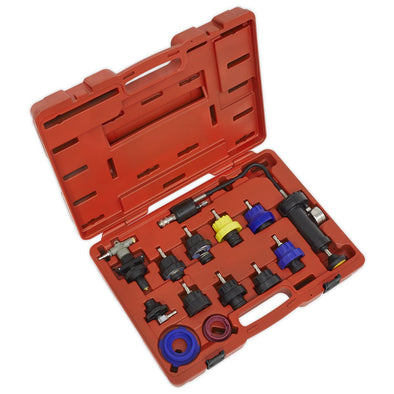 Sealey Cooling System Pressure Test Kit 13pc