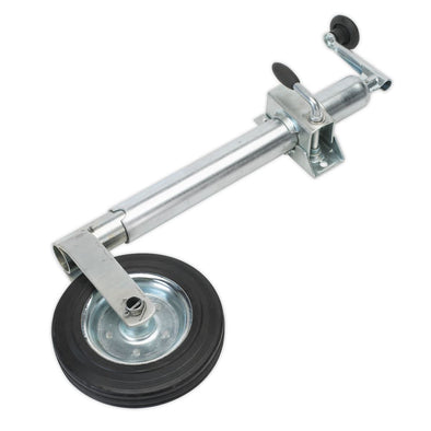 Sealey Jockey Wheel & Clamp Ø50mm - Ø200mm Solid Wheel
