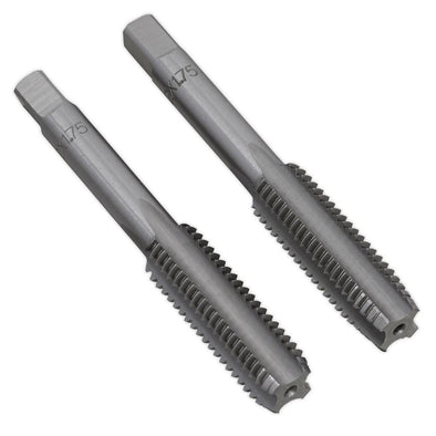 Sealey Tap Set 2pc (Taper & Plug) M12 x 1.75mm
