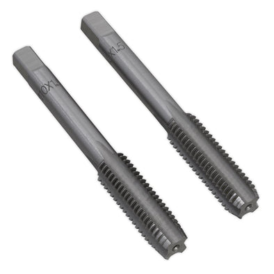 Sealey Tap Set 2pc (Taper & Plug) M10 x 1.5mm