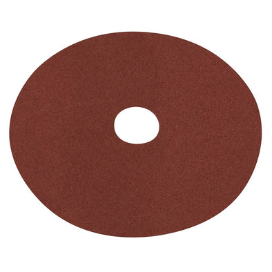 Worksafe by Sealey Fibre Backed Disc Ø125mm - 60Grit Pack of 25