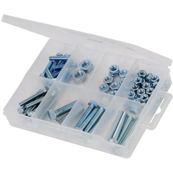 Fixman 75 Piece Hex Bolts & Nuts Pack