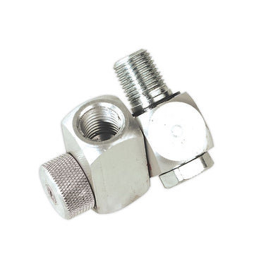 "Sealey Z-Swivel Air Hose Connector with Regulator 1/4""BSP"